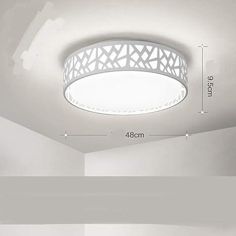 Lámpara de techo LED, redonda para habitación infantil ...