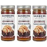 Sanders Dessert Topping Classic Caramel 10 Oz (Pack of 3)