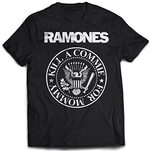 Ramones - Kill A Commie T-Shirt (Buy Fake Pussy)