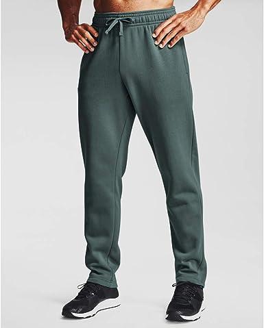 Under Armour Mens Fleece Joggers Jogging Pants Tracksuit Bottoms  Dark Green