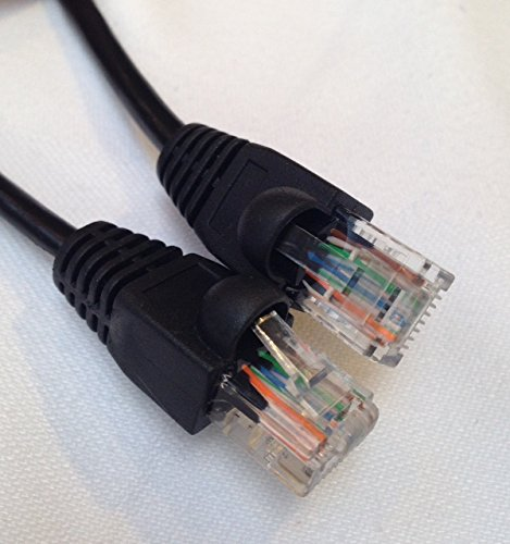 Cable Sourcing - 131ft, 100ft, 66ft, 33ft CAT5e, EXTERNAL & INTERNAL, Ethernet cable, CCTV, 100% Solid Copper, 10/100/1000mb, RJ45, Networking &Patch Cable, LAN, BLACK 10 IDEAL for connecting to CCTV devices, IP camera's, Computer Networking cabling, Switches, Routers, Modems, Hubs, VoIP telephone systems, Smart TV, Xbox, Playstation, Nintendo Wii, Satellite/Cable TV Box. OUTDOOR and INDOOR use, constructed from high quality weatherproof (protects against water, heat and cold) PE jacket and UV resistant for long life and durability which allows for perfect outdoor use and burial, so why rely on a weak WiFi signal in the garden/garage when you could have a solid signal strength. 100% SOLID COPPER CORE 0.51mm, data speed (10/100/1000mb), RoHS Compliant, TIA/EIA 568B Standard, Fluke tested - professional quality for High Definition (HD). UTP (Un-shielded Twisted Pair), 8 Core with 4 twisted pairs (white/blue, white/green, white/orange, white/brown)
