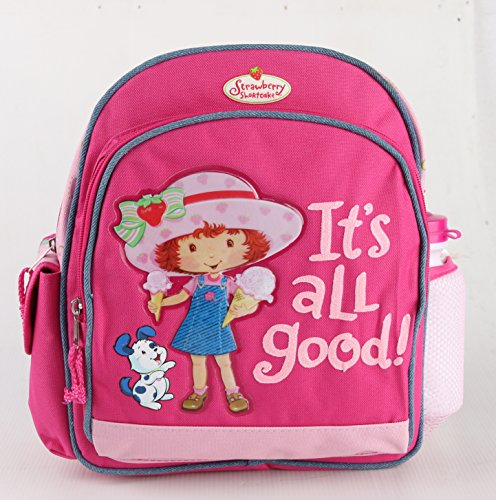 Strawberry Shortcake Small Backpack w/Water Bottle 12