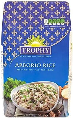 2 kg de arroz Arborio trofeo (Pack de 6 x 2 kg): Amazon.es: Alimentación y bebidas