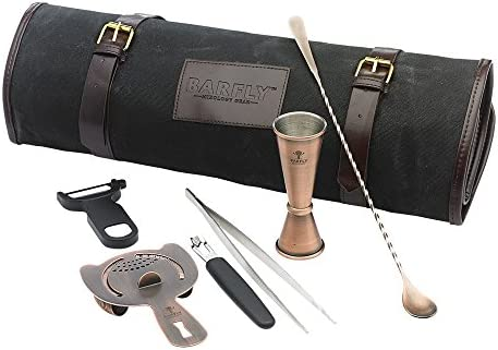 Barfly Mixology Basic Set, Antique Copper, 5 Piece