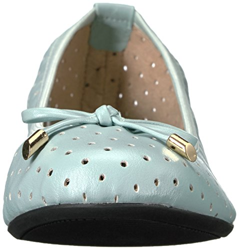 Ballet Flat Women's Grace Twists Green Butterfly wHaqp8x