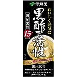 伊藤園 黒酢で活性 (紙パック) 200ml×24本