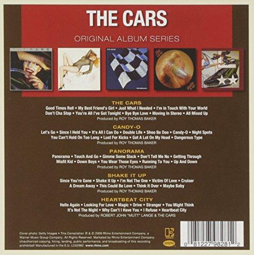 Original Album Series:The Cars/Candy-O/Heartbeat CityShake It Up/Panorama