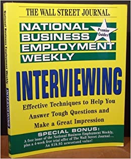 Book Interviewing (National Business Employment Weekly Career Guides)