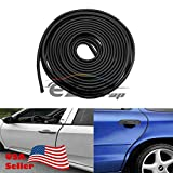 EZAUTOWRAP 15 Ft Soft Black Rubber Flexible Door 3M