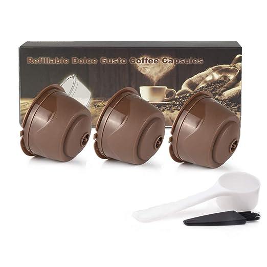 Dolce Gusto cápsulas de café reutilizables recargables con función ...