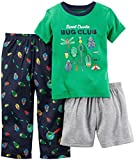 Carter's Boys' 3 Pc Poly 343g021, Green, 5T