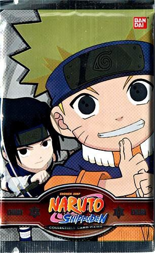 Naruto Shippuden Card Game Exclusive Limited Edition Chibi Tournament Booster Pack - Exclusive Naruto Card