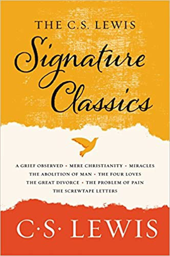 amazoncom the c s lewis signature classics an anthology of 8 c s lewis titles mere christianity the screwtape letters miracles the great divorce