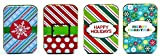 Christmas Gift Card Tin Holders (Set of 4)