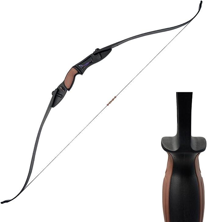 Professional 6Pcs Recurve Bow Arrow Rest Right//Left Hand 3 x 2 x 1cm Black CZ