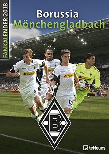 Borussia Mönchenglachbach 2018 - Fankalender, Fußballkalender, Fotokalender, BMG Kalender 2018, Gladbach Kalender, Fohlenkalender 2018 - 29,7 x 42 cm