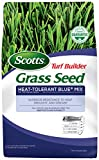 Scotts 18296 Turf Builder Grass Seed Heat-Tolerant Blue Mix for Tall Fescue Lawns, 3 lb
