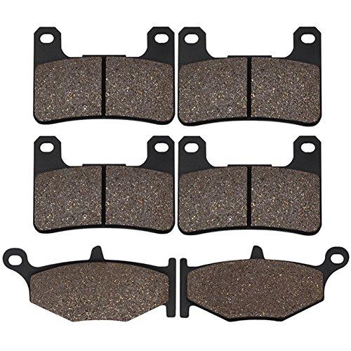 (Cyleto Front & Rear Brake Pads for Suzuki GSXR600 GSXR750 K6 / K7 / K8 / K9 / L0 2006 2007 2008 2009)