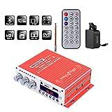 NKTECH DC 12V 3A Power Supply Mini HY-V10 FM/MP3/USB/TF/DVD Audio Car Bluetooth High-Power