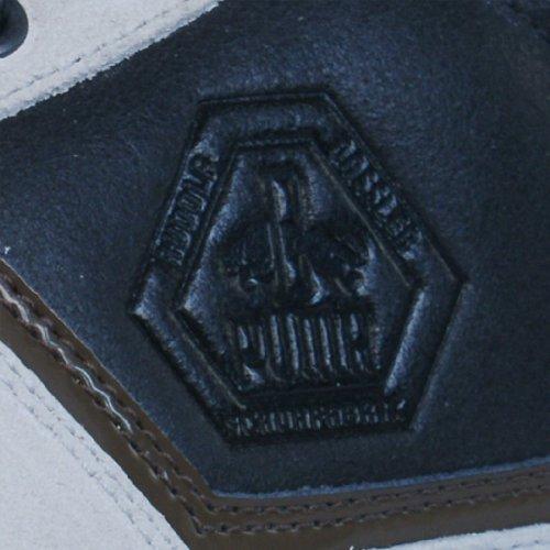 Dassler Low Cuir Noir Hommes Chaussures Rudolf Strassenmeister Puma X5qwptn