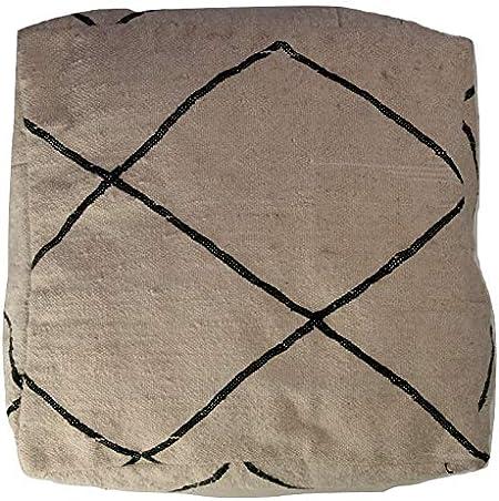 Kilim Pouf,Floor Puff,24x24x6,Floor Pillow Cover,Striped Kilim pouf,Garden Pouf Pillow Cover,Home Decor Puffs SP606015 115