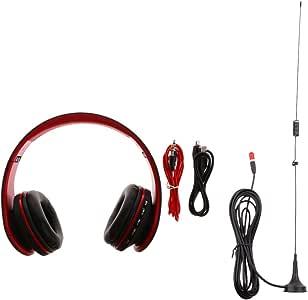 fityle magnético coche antena UHF VHF + auriculares con micrófono ...