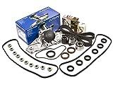 02 honda odyssey timing kit - Evergreen TBK286VCA 97-04 Honda Accord Odyssey Pilot Acura 3.0 3.2 & 3.5L Timing Belt Kit Valve Cover Gasket AISIN Water Pump