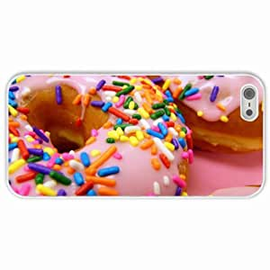Apple iPhone 6 4.7 Cases Customized Gifts Sweets Donuts White Hard PC Case