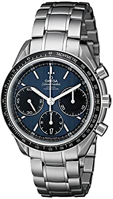 Omega Men's 326.30.40.50.03.001 Speed Master Racing Analog Display Swiss Automatic Silver Watch by Omega
