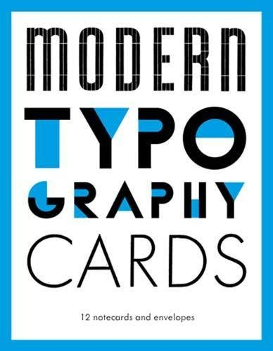 Download Modern Typography Notecards pdf epub