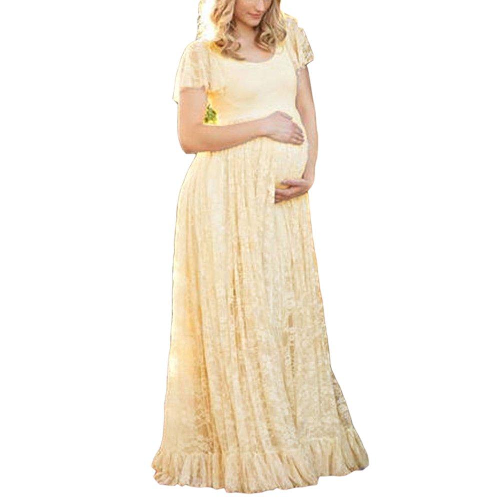 Vestido atractivo de las mujeres embarazadas, vestido del lanzamiento de foto del vestido de maternidad, faldas fotográficas de maternidad, regalo perfecto ...