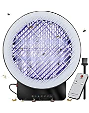 Mosquito Bug Zapper, Mosquito Killer UV Insect Killer Lamp Electronic Insect Killer for Indoor, Timing and Remote Control Mosquito Killer with Drawer for Mosquito Carcass
