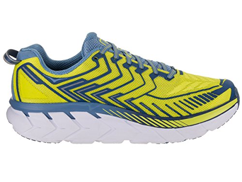 HOKA Men Clifton 4 Sulphur Spring/Midnight (43 1/3)