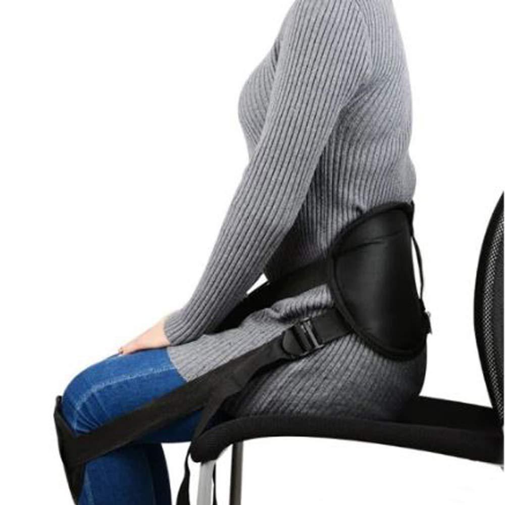Kriva Polyester Adjustable Waist Brace Support Posture