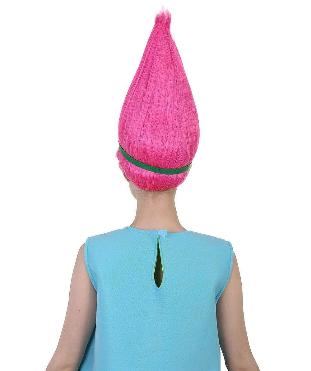Halloween Party Online Princess Troll Wig Pink HW-1079