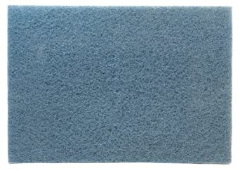 """3M Blue Cleaner Pad 5300, 12"""" x 18"""" (Case of 5)"""