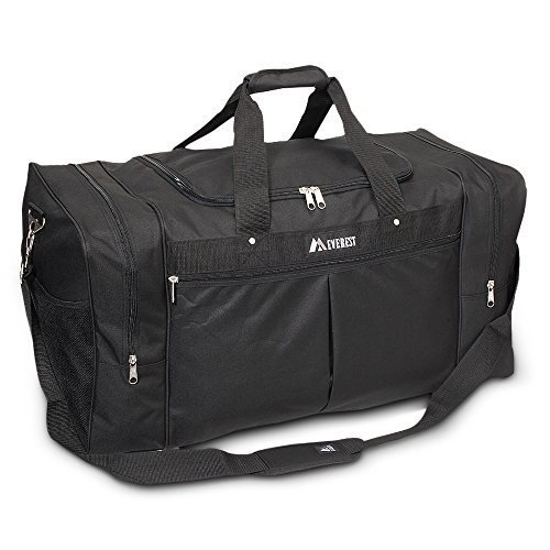 Everest Travel Gear Bag - Xlarge Color: Black