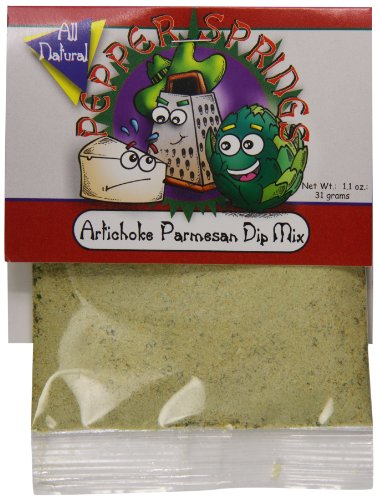 Pepper Dip Mix (Pepper Springs Artichoke Parmesan Dip Mix, 1.1 Ounce)