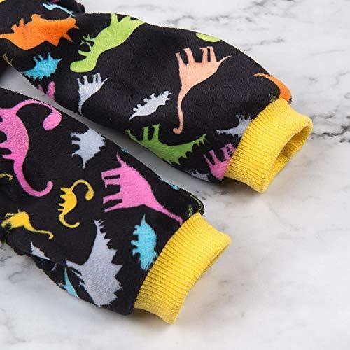 CuteBone Dog Pajamas Adorable Puppy Clothes Jumpsuit Pjs Pet Apparel Soft Fleece Cat Coat 26