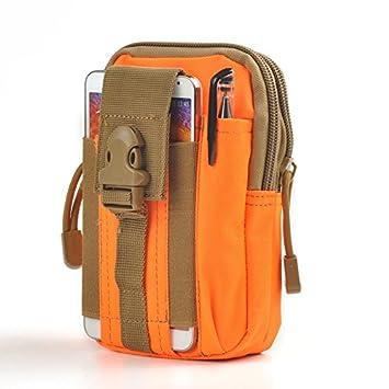 D30 Tactical Molle bolsas de cintura, Woopower impermeable hombres deportes al aire libre de la cintura Pack – Bolsa de Trabajo (12 pares, nailon ...
