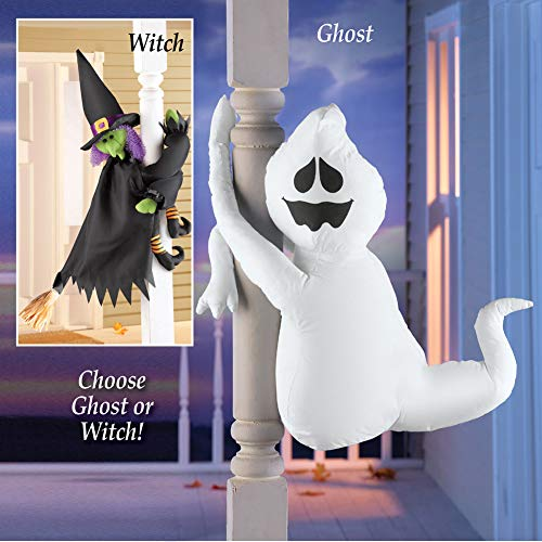 Cute Poseable Halloween Porch Decorations, Ghost by Collections Etc (Image #4)
