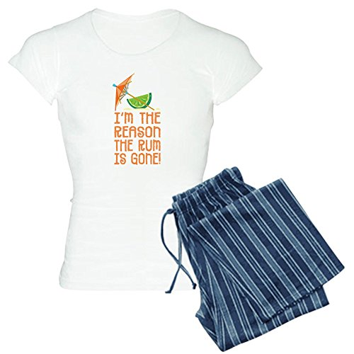 Drink Hurricane Rum - CafePress - Rum Gone - Women's Light Pajamas - Womens Novelty Cotton Pajama Set, Comfortable PJ Sleepwear
