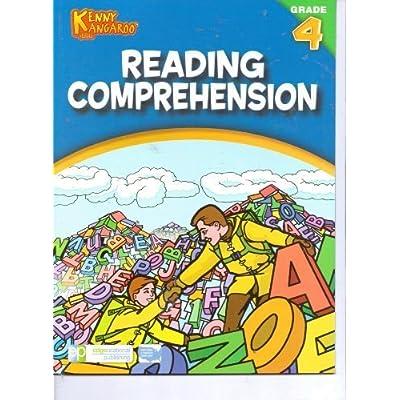 Kenny Kangaroo Reading Comprehension Workbook Grade 4: Toys & Games