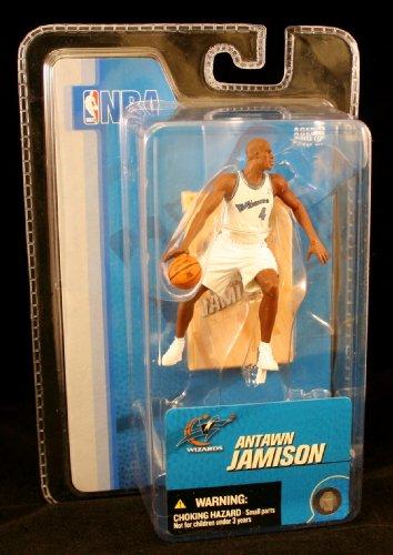 ANTAWN JAMISON / WASHINGTON WIZARDS * 3 INCH * McFarlane's NBA Sports Picks Series 3 Mini Figure & Display Base