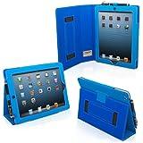 iPad 4 und 3 Hülle (Blau ), Snugg - Smart Case mit lebenslanger Garantie + Sleep / Wake Funktion