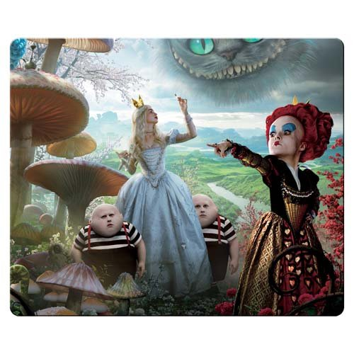 26x21cm 10x8inch game mousemat cloth and rubber prevent skipping Rectangle Mousepad Alice in Wonderland (Mousepad Alice In Wonderland)