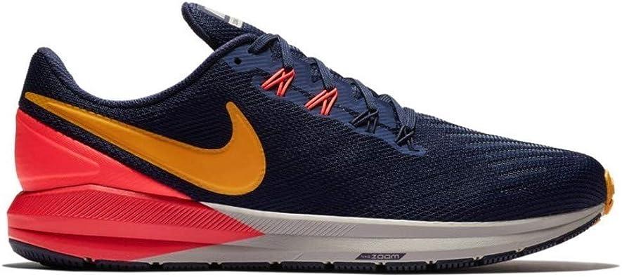 Ondular Evaluación perder  Amazon.com: Nike Air Zoom Structure 22 - Zapatillas de running para hombre,  Azul, 8.5: Shoes
