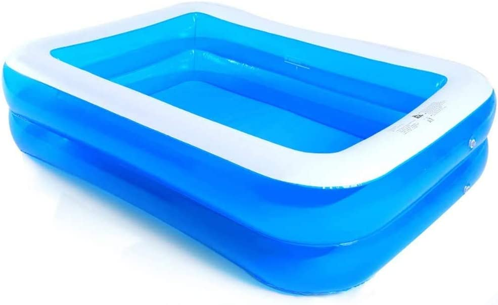 AJH Piscina Inflable Baño Cuadrado Barril Bañera para Adultos Espesamiento Aumento Piscina Familiar Baño Infantil Bañera