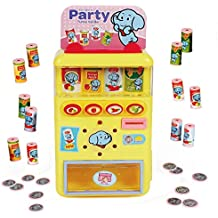PUSITI Vending Machine Toys Electronic Drink Machines Kids Education Learning Toys for Boys and Girls Age 3 Years and Up Shopping Game Toys