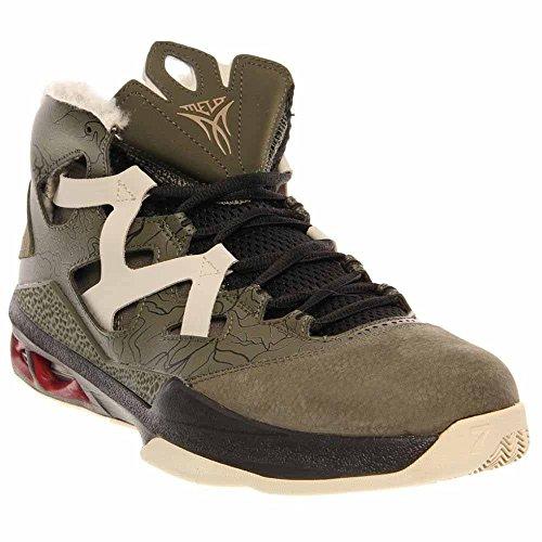 sneakers for cheap d5c7d f4050 Galleon - Nike Men s Jordan Melo M9 Crg Khk Mtllc Znc Gym Rd Blck Basketball  Shoes 11 Men US